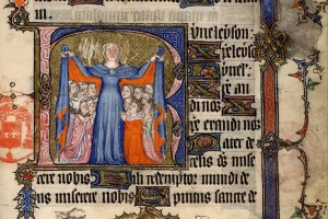 Paris, Bibl. Mazarine, ms. 520 , f. 105