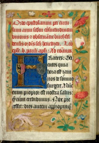 Figure 3. Valenciennes, Bibl. mun., ms. 129, f.1.