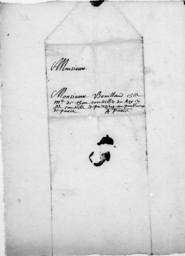 Correspondance et papiers politiques et astronomiques d'Ismaël Boulliau (1605-1694). BnF, Français 13024.