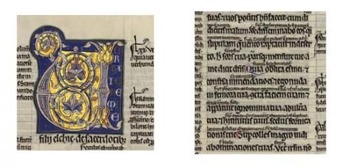 Bibles glosées en Channel style, Madrid, BN, ms. 206.