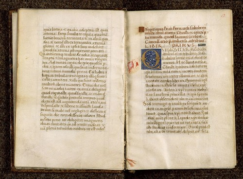 De Imitatione Christi, Thomas a Kempis, Paris, Bibl. Sainte-Geneviève, ms. 2778, f. 12v-013.