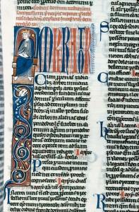 Justinianus, Codex Justinianus, Alençon, BM, ms. 175, f. 184.