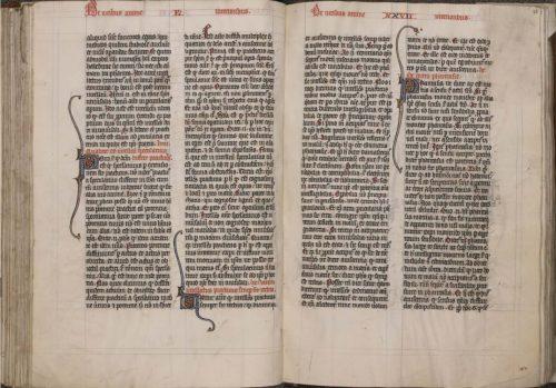 Tournai, Bibliothèque du Séminaire, BE5, f. 77v-78.