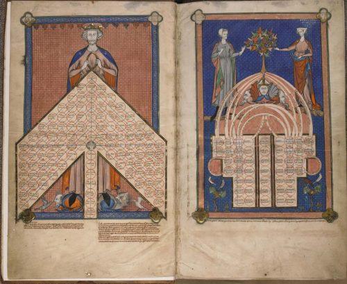 Tournai, Séminaire du Séminaire, BE6, f. 1v-2.