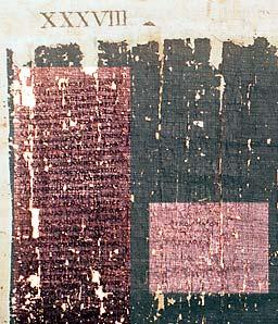 Napoli, Bibl. Nazionale, PHerc. 1497, col. finale (152).
