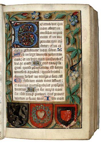Paris, Bibl. Mazarine, ms. 391, f. 15.