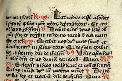 Paris, Bibl. Mazarine, ms. 363, f. 141. Collectaire célestin, Paris ? second quart du XVe s.