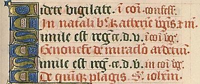 Paris, Bibl. Sainte-Geneviève, ms. 106, f. 220. Évangéliaire à l'usage de l'abbaye Sainte-Geneviève de Paris, Paris, vers 1520-1530.
