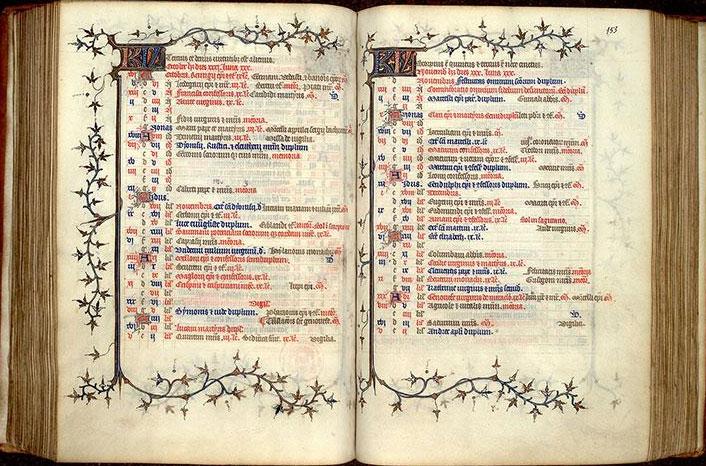 Calendrier Fetes Medievales.Le Calendrier Les Carnets De L Irht