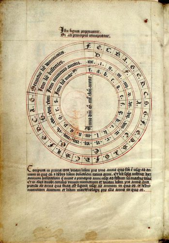 Paris, Bibl. Mazarine, ms. 360, folio 2v.